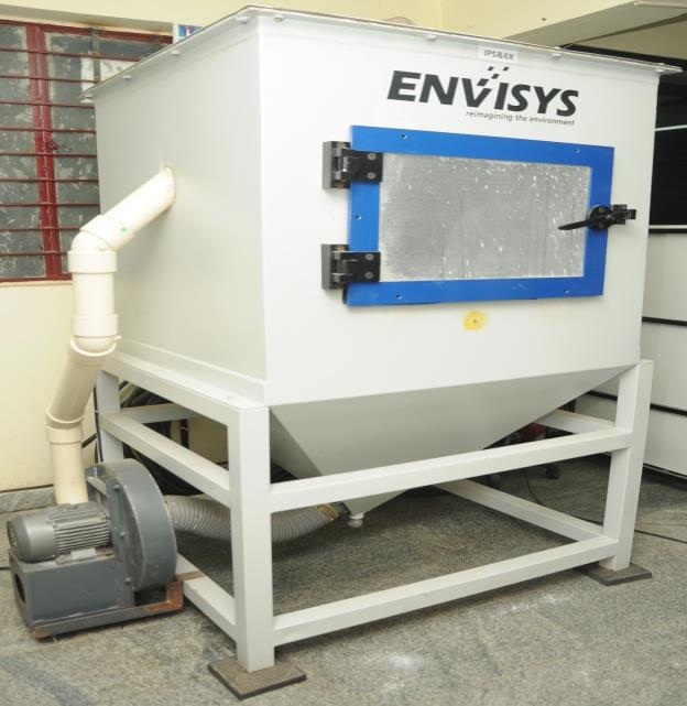 Dust Chamber (Ingression Protection Test) Facility - BE Analytic